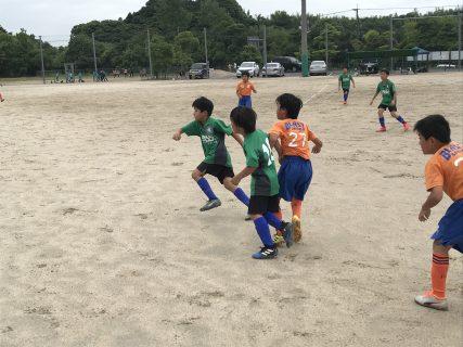 6/8(土) U10  2nd TRM vs ブラスト、レインボー、小城、イースト