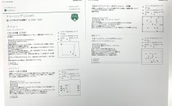今日の練習メニュー 038   6/7(金)