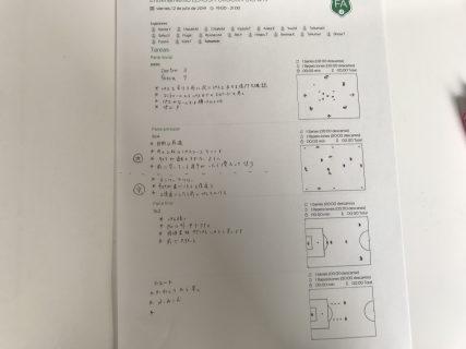 きょうの練習メニュー&練習MVP 057(7/12金)