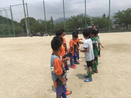 U10 1st TRM 対 粕屋U11② 2週間後のリーグ戦開幕に向けてのTRM!