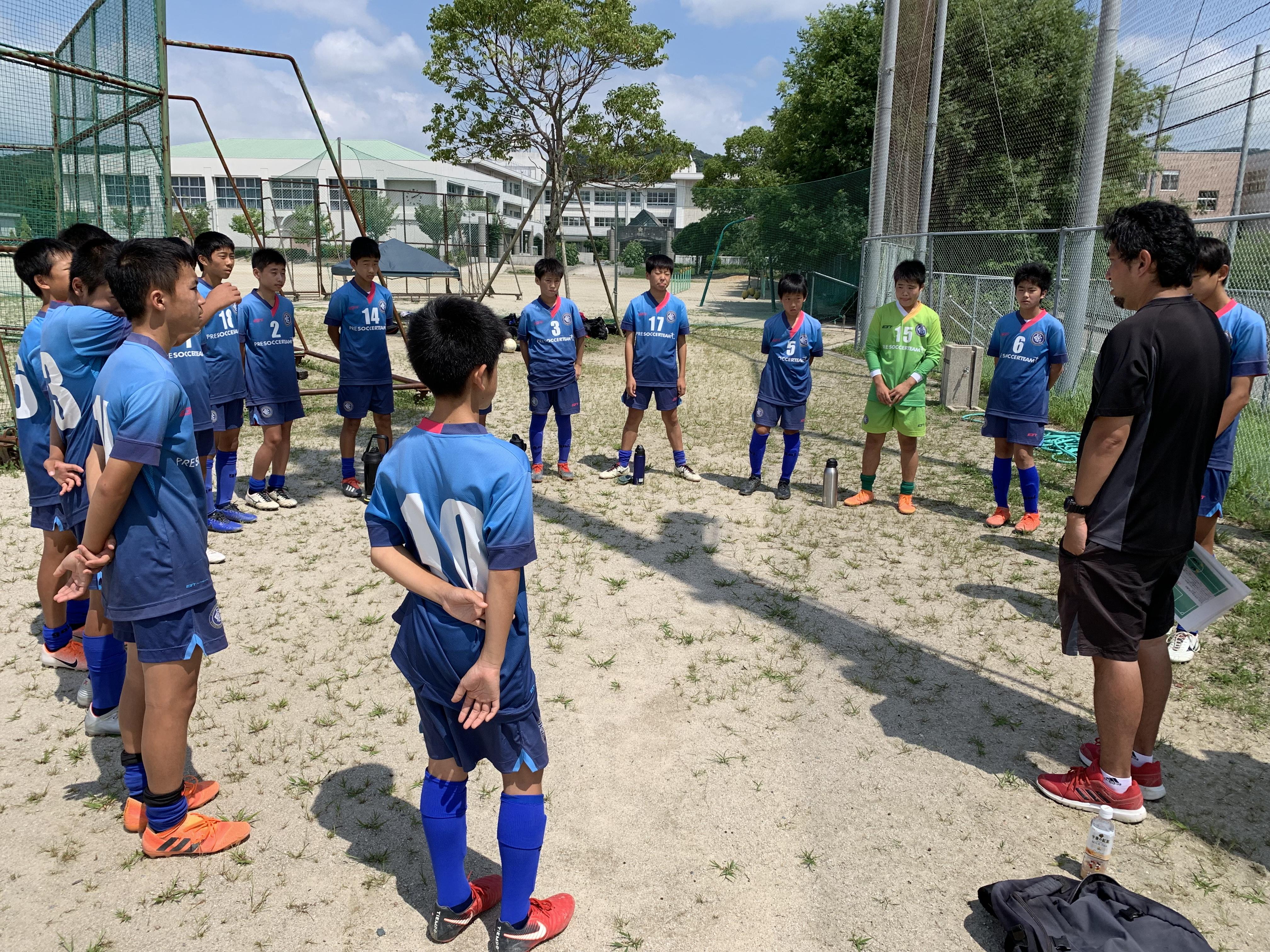 ジュニアユース2nd Azul 支部中位リーグ vs ラパシオン2nd、リベルタ2nd
