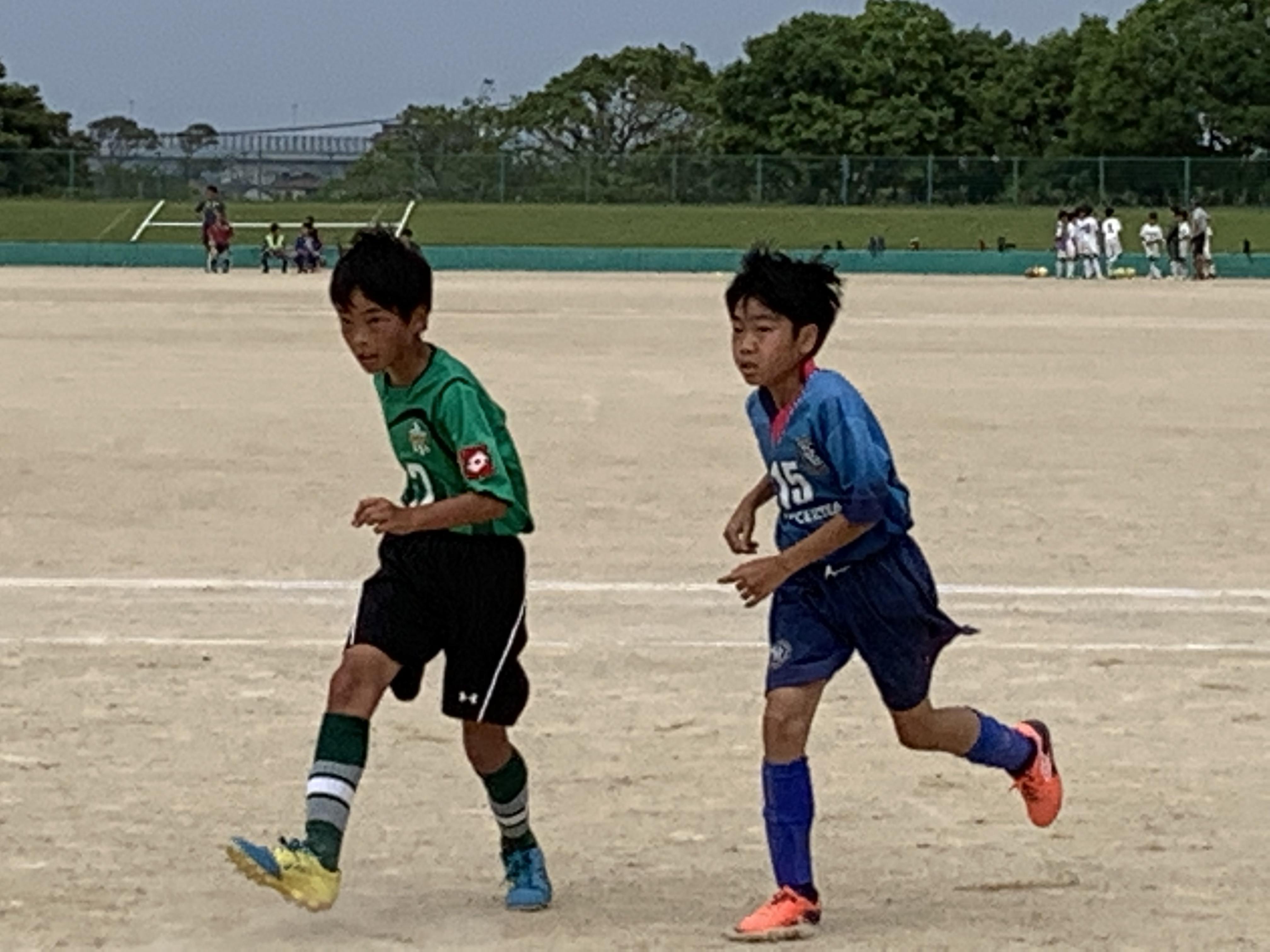 U-12・1st 1部リーグ 第9節 vs 東福岡  〜強烈なミドルが炸裂…〜