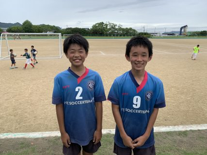 U-12・1st 1部リーグ 6・7節 vs アビスパ、J-WIN