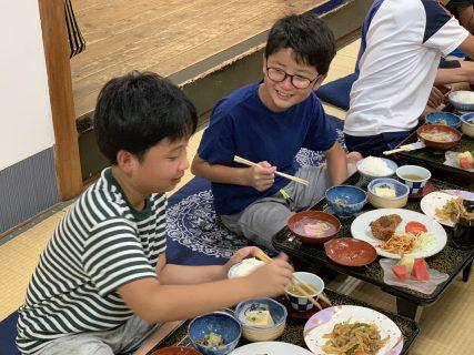 U10/11熊本遠征-逞しくなる為にしっかり食べます!-
