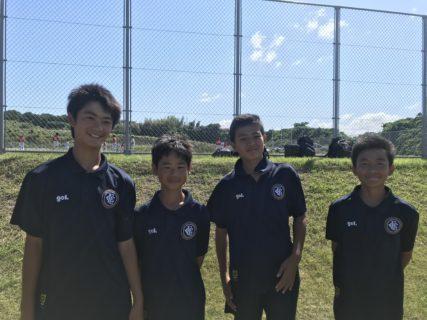 U-13県リーグ(後期) vs 飯塚一中、パープルリバー