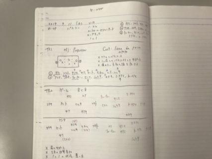 今日の練習メニュー&MVP 074 9/11(水)