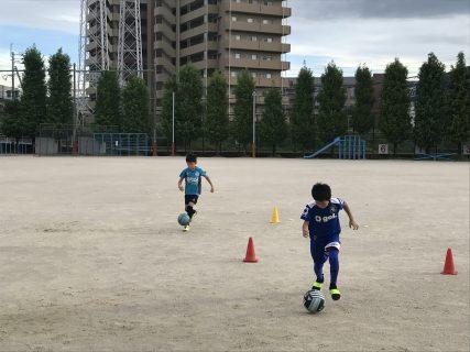 ボールをコントロールできるようになろう! 9/2(月)高木スクール!