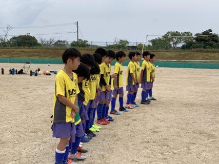 U10 2nd TRM 対 田村、今宿 〜南区リーグを終えて、現在地はどこか〜