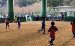 11/17(日)U9②カップ戦 in みゆき公園