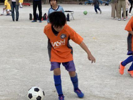 U-9 2nd、U-8トレーニングマッチ(vs有田)