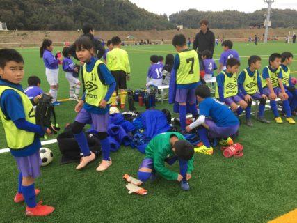 グループを1位突破!U10 1st 熊本winter cup -1日目-