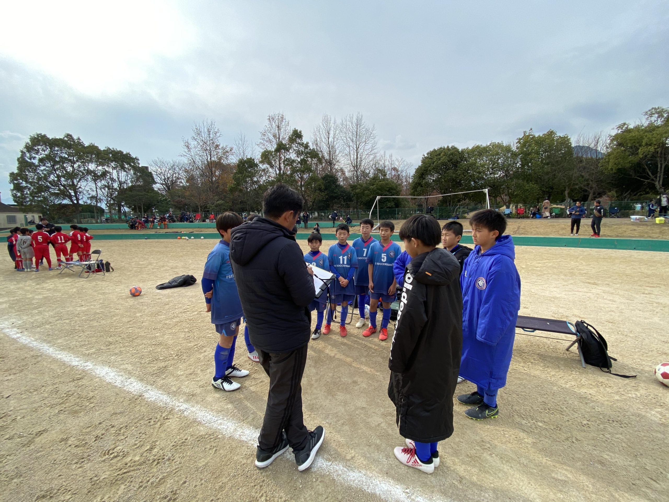 U-11 1st 後期2部リーグ結果速報(vs香椎東、vsエリア伊都)