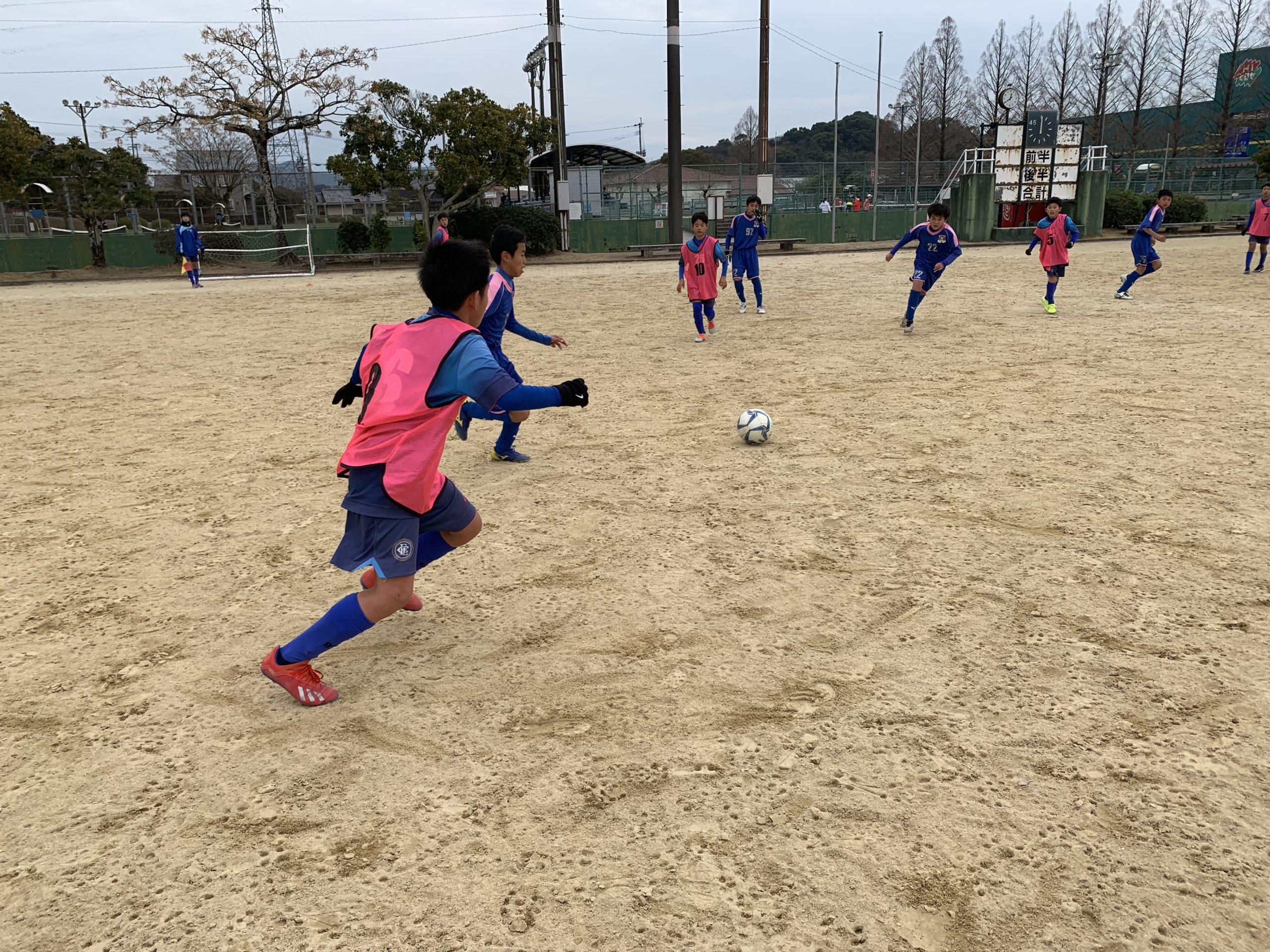 U13トレーニングマッチ vsスネイル(長崎)・アドバンス(鹿児島)