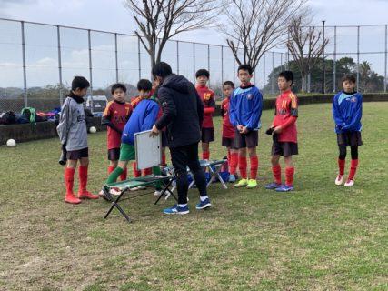 U-12・1st TRM vs TIPS 福岡市長杯前の最後の調整