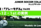 『U-12・1stチームのプレーモデル』についての講義動画を作成 〜ジュニアサッカー大学NEWS〜