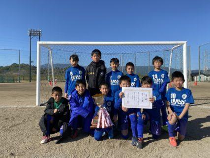 2年連続3度目の優勝!U10 1st モーモーカップ2日目