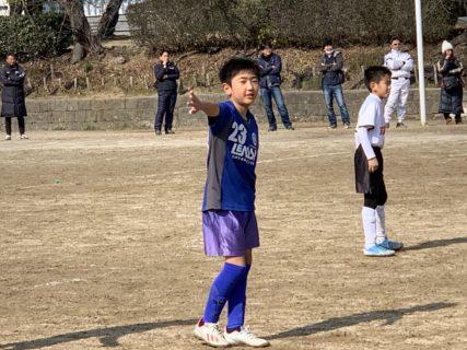 U11 2nd福岡支部3部後期リーグ最終日