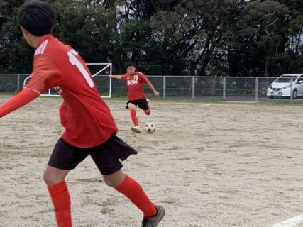 ジュニアユース2nd(Rojo)福岡支部リーグ第4節