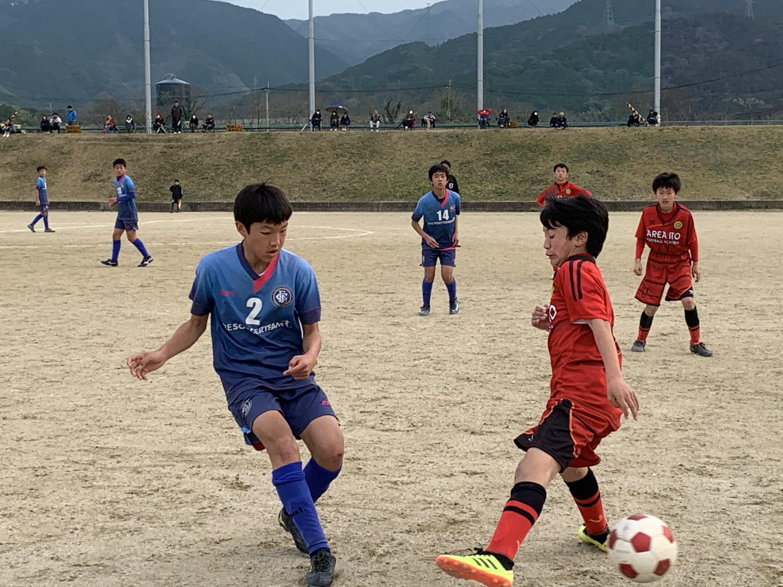 ジュニアユース2nd(Rojo)福岡支部リーグ第5節