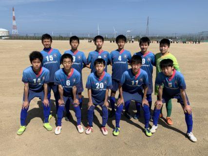 ジュニアユーストップ 県リーグ2部 第2節 vs IBUKI~レアッシらしさが徐々に出てきました~