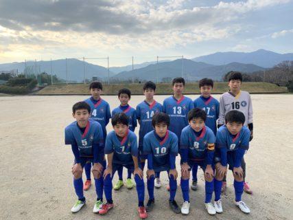 ジュニアユース2nd(Azul)福岡支部リーグ前期開幕戦!