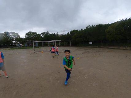 悪天候の中、シュート祭り!桧原スクール