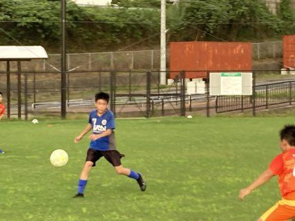 U-12 1st 練習試合結果速報(vsエリア伊都)