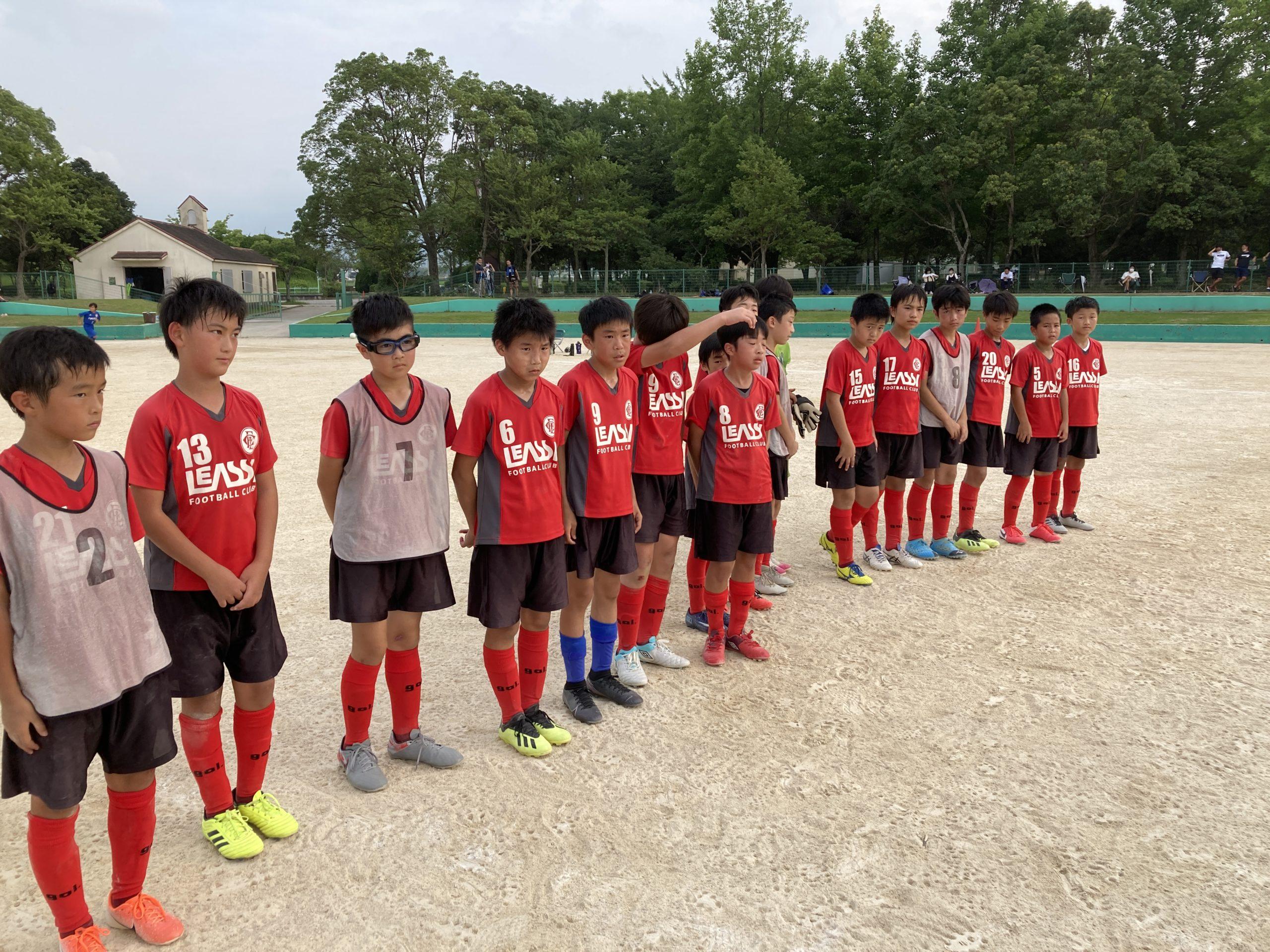 U-12 1st TRM(vs福岡西)結果速報