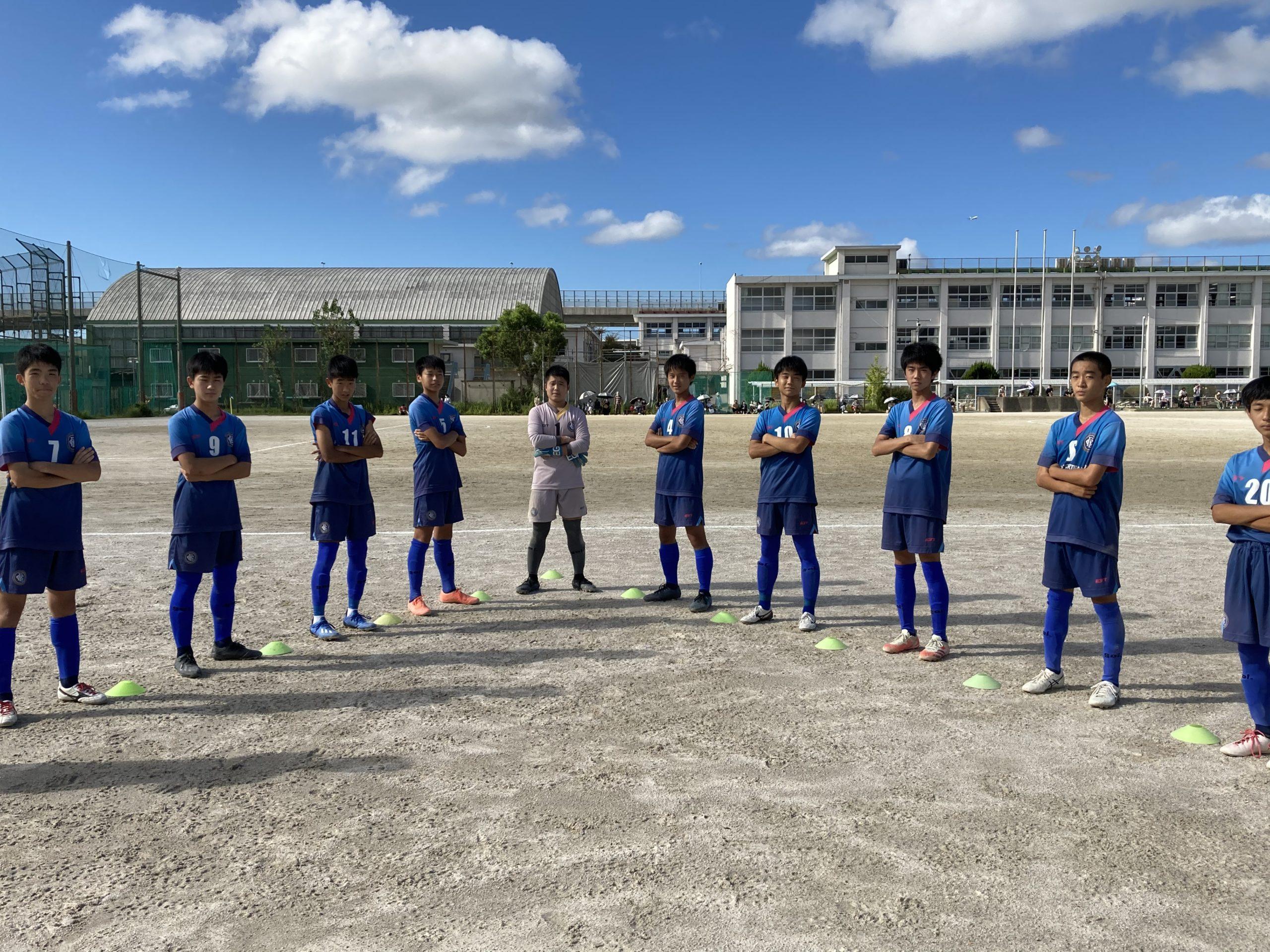 U15(TOP)福岡県リーグ2部 3戦目vsトナカイ