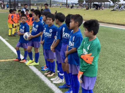 U-10 1st山口セイザンカップ(vsセイザン、vs小月、vs山口SC)結果速報!