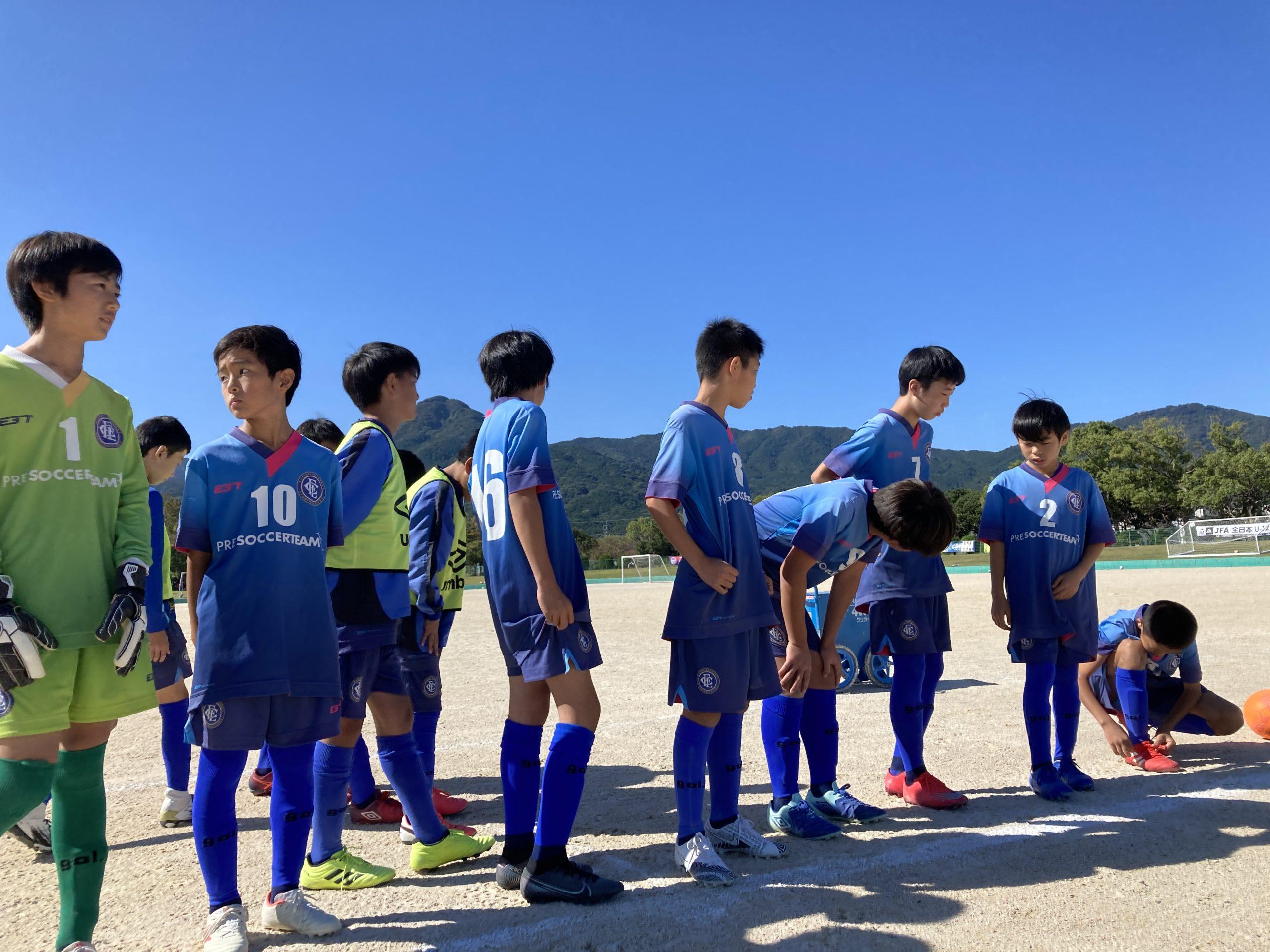 U-12全日本サッカー選手権大会福岡地区ブロック大会順位決定戦結果速報!