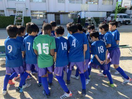 U10 2nd南区リーグ vs大橋A、ピアーチェ
