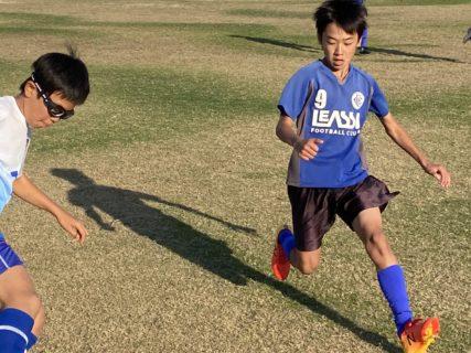 U-11・1st【難易度の高いサッカーにチャレンジすること】TRM  vs 久留米アザレア・城島