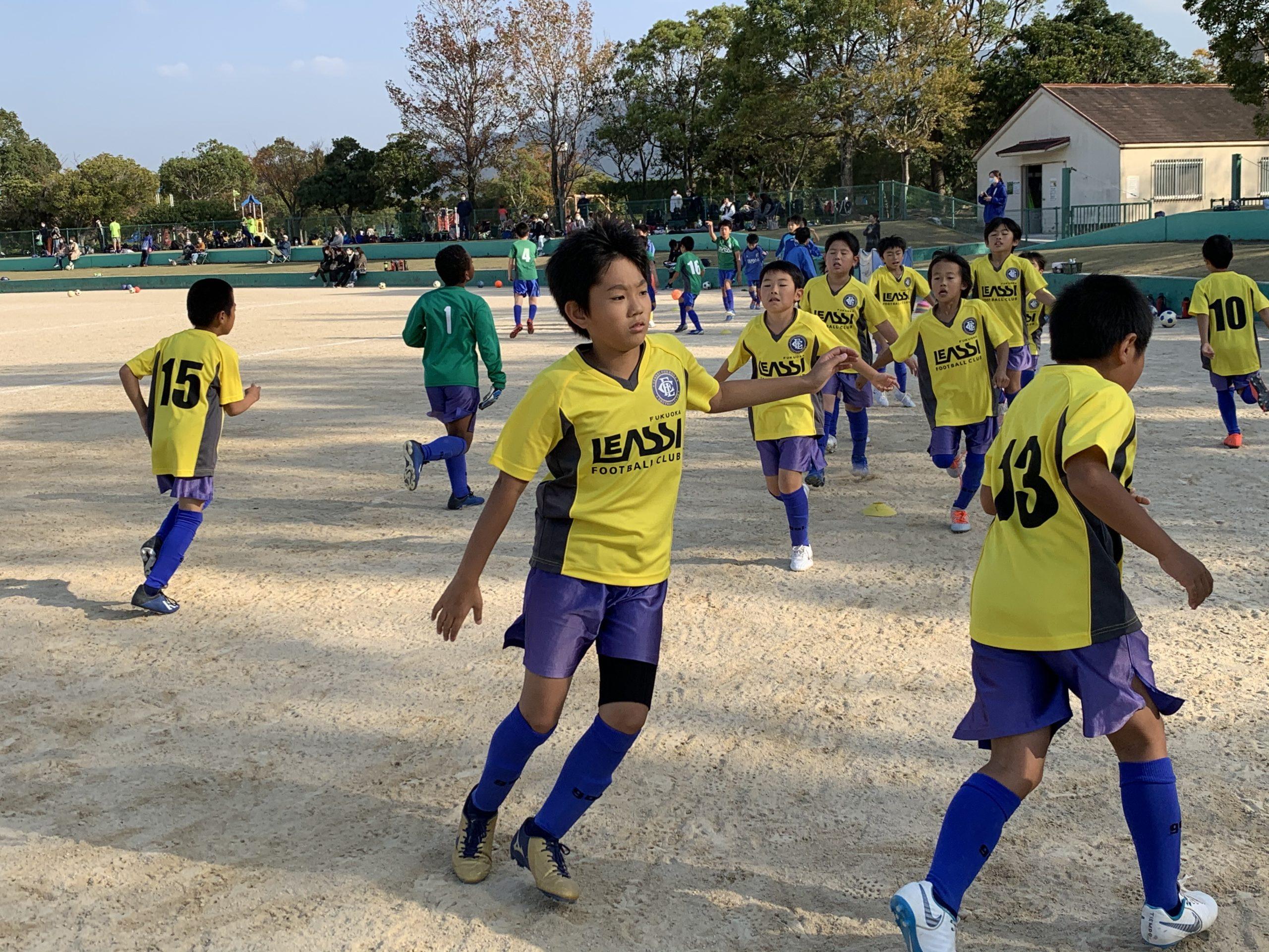 U10 2nd TRM vs有田 「練習と試合をつなげることが大切」