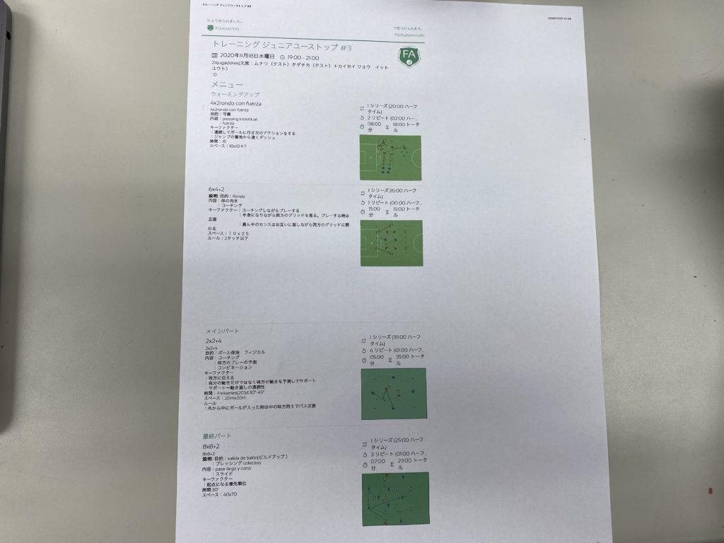 先週の試合結果【11月21日(土)~11月23日(月祝)】
