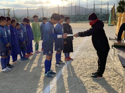 第33回南区長杯サッカー親善大会準優勝(vs若久、vs大橋、vs長住)