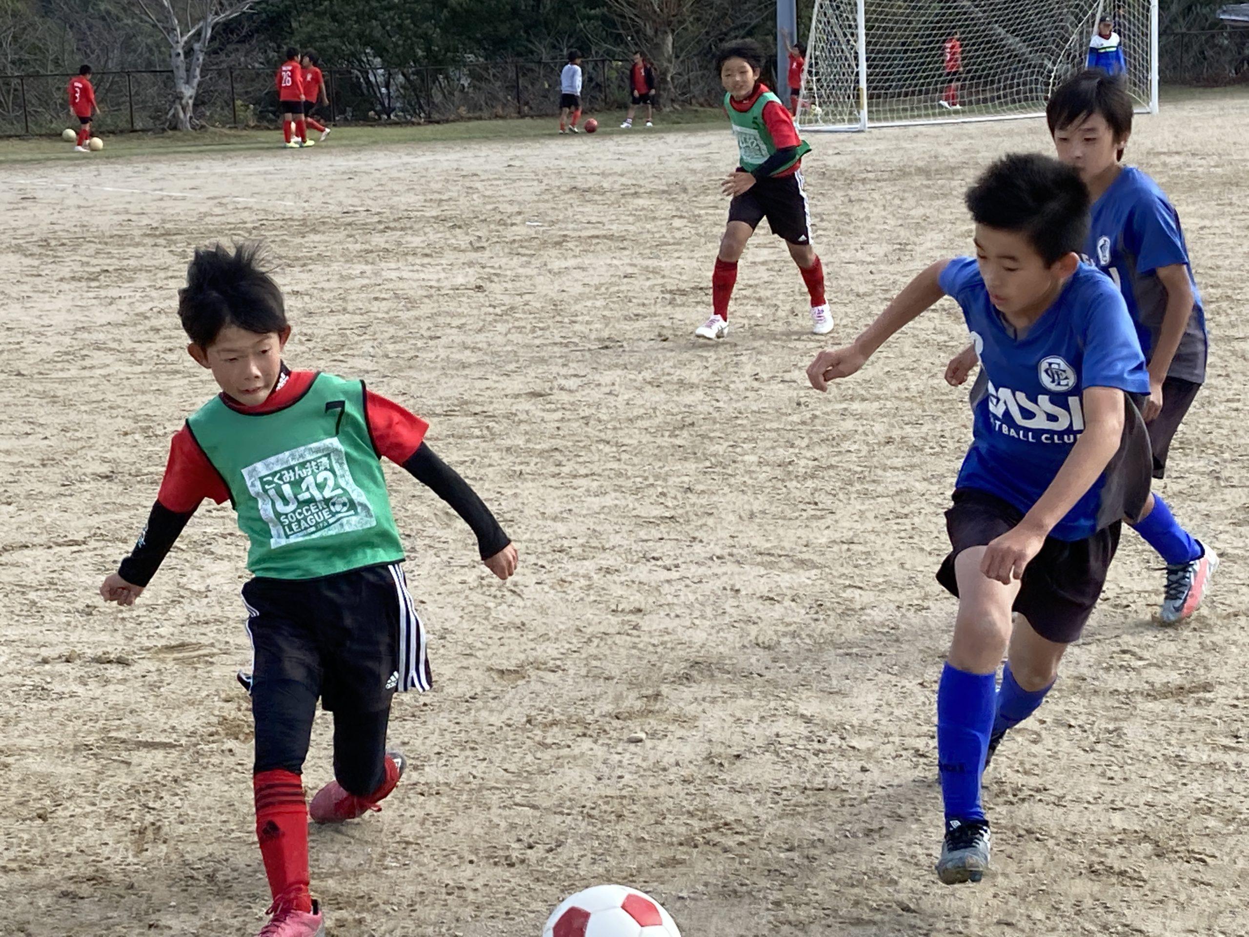 U-11 ・1st 練習試合 vs 大坪・長崎ドリーム【次のステップを踏む段階】
