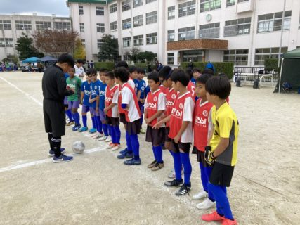 U-10 1st 南区リーグ(vs野多目、vsレアッシ2nd)結果速報!