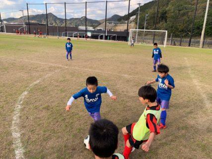 U-8練習試合 vs 田村マーズ・けごジュニア
