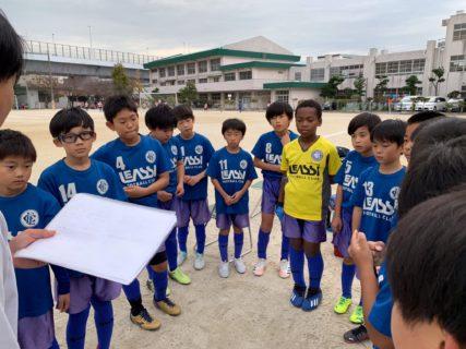 U10 2nd 南区リーグ vs長住、レアッシ1st