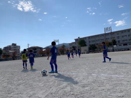 今月3回目の練習試合U-9・8 vs けご・エリア伊都