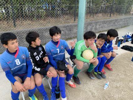 ジュニアユーストップ TRM vs 川崎〜年内最終試合、2021年に繋げる試合〜