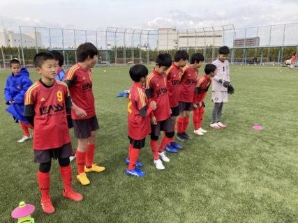 U-12 1st TRM(vs大橋、vs千早、vs東与賀)結果速報!