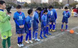 U-12 1st 九州大会福岡県大会出場決定!(vs和白東、J-WIN)