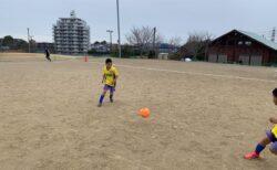 U-8練習試合【戦術の基本はポジションの概念】レアッシらしいサッカーを