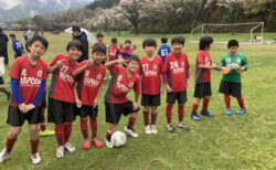新U-11First中津江遠征で1部リーグに向けて強化!